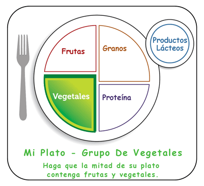 vegetales de color