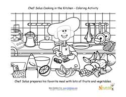 school cooking kids page